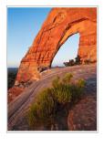 *Sunrise at White Mesa Arch*