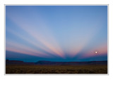*Light Beams & Moonrise*