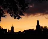 Shrewsbury skyline