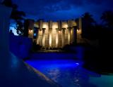 Manor Pool Waterfall