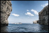 Clifs of Comino