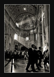 Light in S.Pietro - Rome