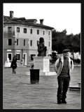 people in burano
