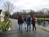 Oeverloperpad De Loet Lexmond 24-25 januari 2009