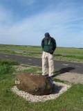 Monument voor een gecrashte bommenwerper uit WOII