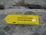 Klettersteig naar Säuleck