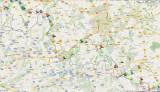 Grenslandpad Google Maps/Earth