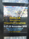 Malta Challenge Marathon 2010