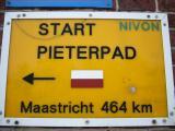 Pieterpad wandeling Pieterburen naar Groningen