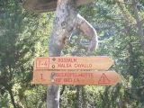 Start hike Alta Via 1  aan eind van Pragser Wildsee/Lago di Braies