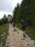 pad richting Cinque Torri