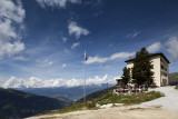 The Hotel Weisshorn.