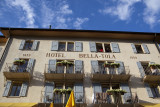 The Hotel Bella-Tolla, where we had dinner on dad's birthday.