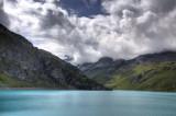The glacial Moiry Lake.