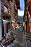 Houses in Grimentz.