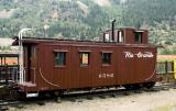 DRGW Caboose