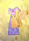 my beautiful dress, Peggy, age:4.5