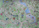 map, Justin, age:10