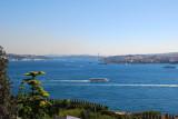 TURKEY:  Bosphorus from the Ciragon Palace Kempinski