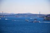 Bosphorus from the Ciragon Palace Kempinski