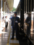Our Steward on the Orient Express Sept 3, 2010