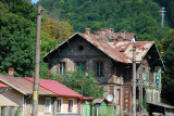 Arrival in the mountain town of Sinaia