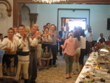 I'm doing the Hora at lunch in Sinaia Sept 5, 2010