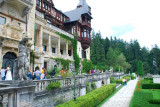 The castle is situated in the Carpathian Mountains