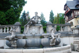 Fountain in the castle grounds