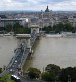 Szechenyi Chain Bridge opened in 1849