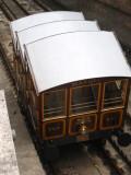Tram climbing Gellert Hill
