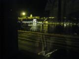 View of the Chain Bridge at night
