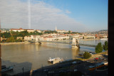 A view of Budapest from the Soffitel Hotel