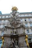VIENNA:  Plague Monument - Vienna September 7 2010