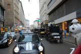 And we are off winding through the streets of Vienna