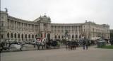 The famous Michaelerplatz - Vienna