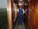 Marco the best steward on the train Sept 8, 2010
