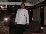 One of the best waiters on the train Sept 8