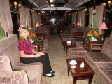 Bar Car on the Orient Express September 8, 2010