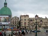Venice on a dark rainy day