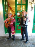 A welcome to the restaurant on Burano Island Venice Sept 8