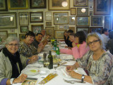 Our group from the train enjoying a seafood lunch September 8