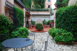 Our own private courtyard