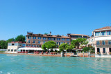 Hotel Cipriani taken from a water taxi Sept 9, 2010