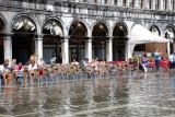 St Mark's Square at high tide September 9, 2010