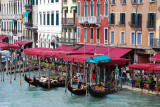 Restaurants and Gondolas on the Grand Canal