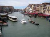 Grand Canal from the Rialto Bridge