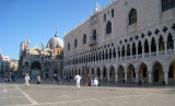 St Mark's Square early morning without the crowds September 12, 2010
