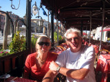 Breakfast near the Rialto Bridge
