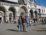 Dave and Mark in St Mark's Square